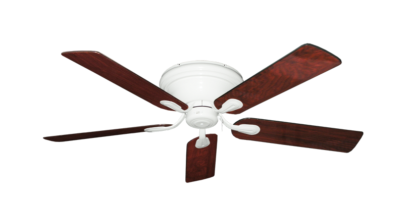 """Picture of Stratus Pure White with 52"""" Cherrywood Gloss Blades"""