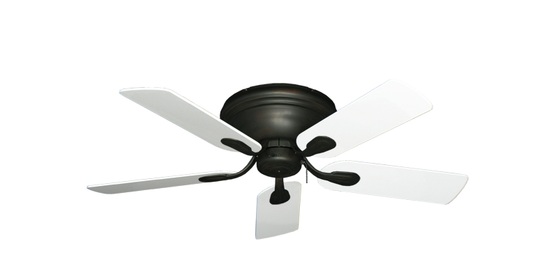 "Picture of Stratus Oil Rubbed Bronze with 44"" Pure White Blades"