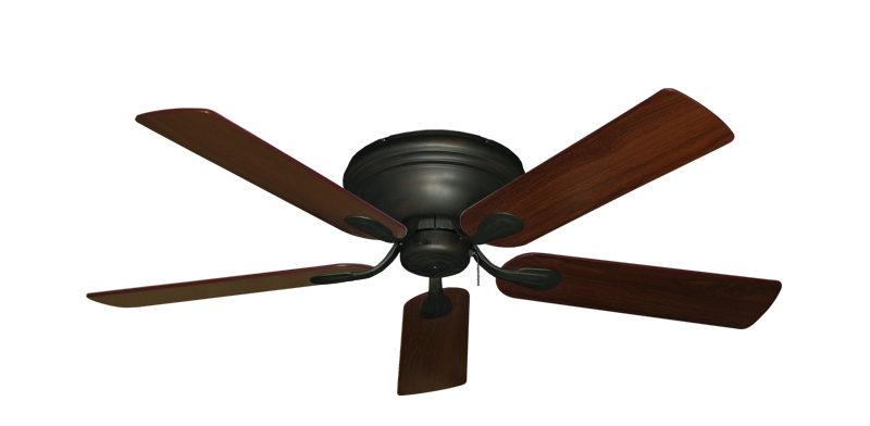 "Picture of Stratus Oil Rubbed Bronze with 52"" Walnut Blades"