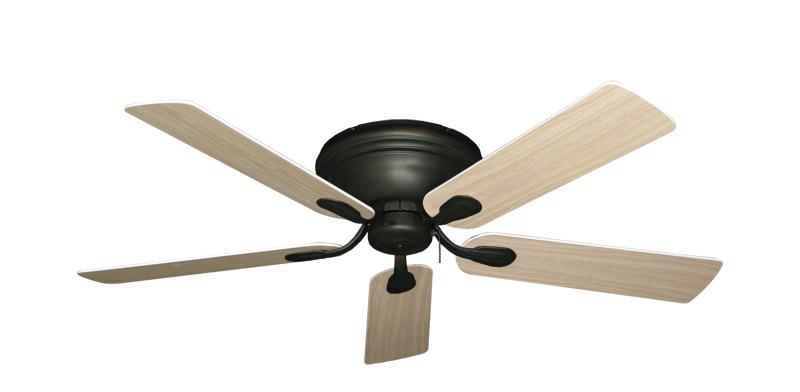 "Picture of Stratus Oil Rubbed Bronze with 52"" Bleached Oak Gloss Blades"