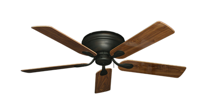 "Picture of Stratus Oil Rubbed Bronze with 52"" Walnut Gloss Blades"