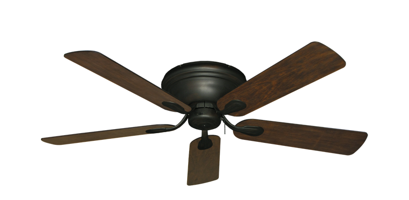 """Picture of Stratus Oil Rubbed Bronze with 52"""" Distressed Walnut Blades"""