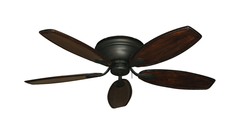 "Picture of Stratus Oil Rubbed Bronze with 52"" Series 550 Arbor Dark Walnut Blades"