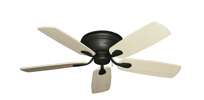 "Picture of Stratus Oil Rubbed Bronze with 52"" Series 710 Arbor Whitewash Blades"