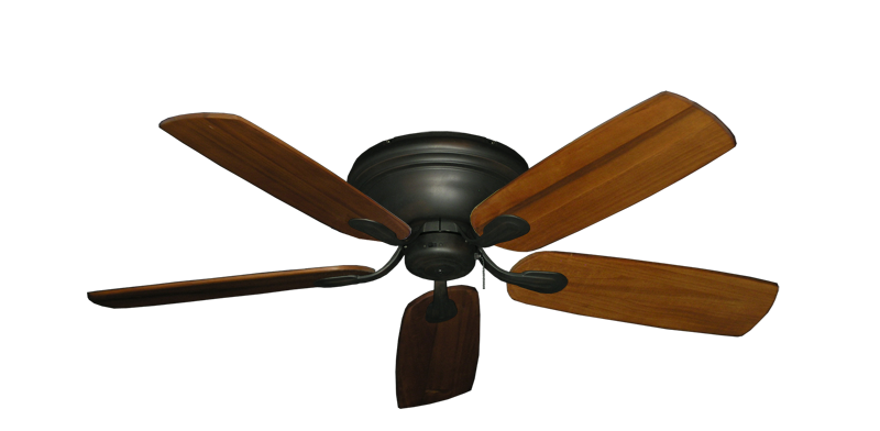 """Picture of Stratus Oil Rubbed Bronze with 52"""" Series 710 Arbor Oak Blades"""