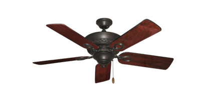 """Picture of Infinity Oil Rubbed Bronze with 44"""" Cherrywood Gloss Blades"""