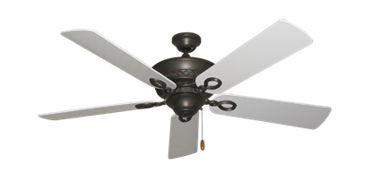 """Picture of Infinity Oil Rubbed Bronze with 52"""" Pure White Blades"""