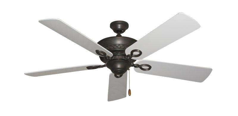 "Picture of Infinity Oil Rubbed Bronze with 52"" Pure White Blades"
