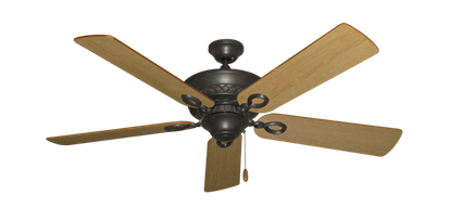 """Picture of Infinity Oil Rubbed Bronze with 52"""" Maple Blades"""