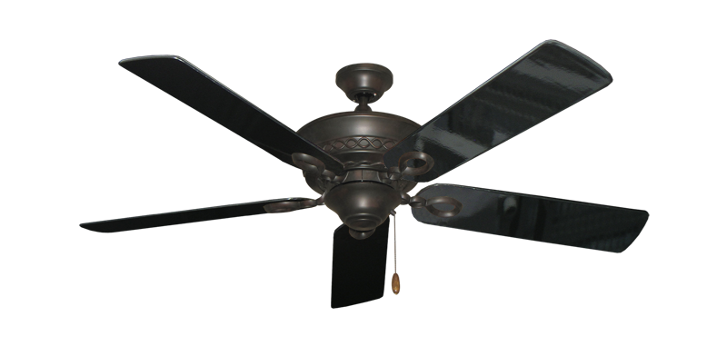 "Picture of Infinity Oil Rubbed Bronze with 52"" Black Gloss Blades"