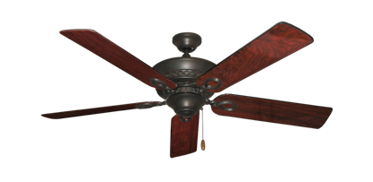 """Picture of Infinity Oil Rubbed Bronze with 52"""" Cherrywood Gloss Blades"""