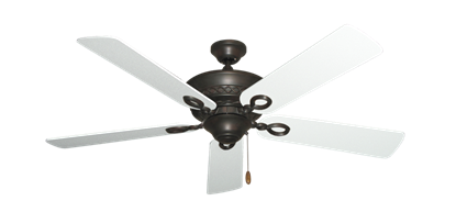 """Picture of Infinity Oil Rubbed Bronze with 52"""" Textured White Blades"""