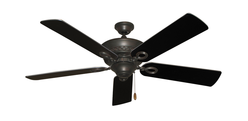"Picture of Infinity Oil Rubbed Bronze with 52"" Black Blades"