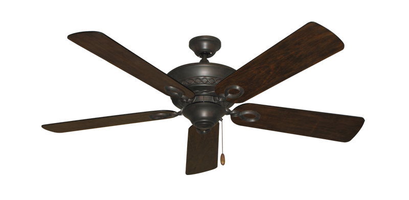 "Picture of Infinity Oil Rubbed Bronze with 52"" Distressed Hickory Blades"