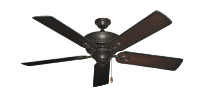 """Picture of Infinity Oil Rubbed Bronze with 52"""" Distressed Cherry Blades"""