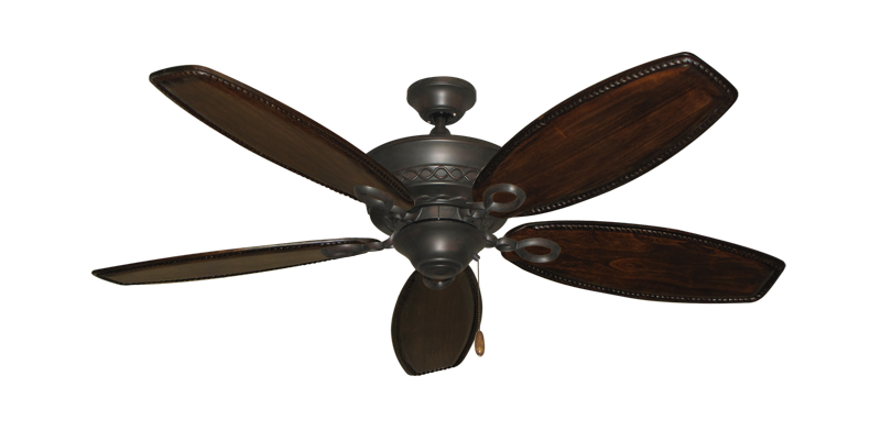 """Picture of Infinity Oil Rubbed Bronze with 52"""" Series 550 Arbor Dark Walnut Blades"""