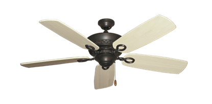"""Picture of Infinity Oil Rubbed Bronze with 52"""" Series 710 Arbor Whitewash Blades"""