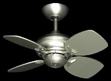 """Picture of 26"""" Mini Breeze Ceiling Fan in Satin Steel"""