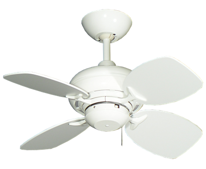 "Picture of 26"" Mini Breeze Ceiling Fan in Pure White"