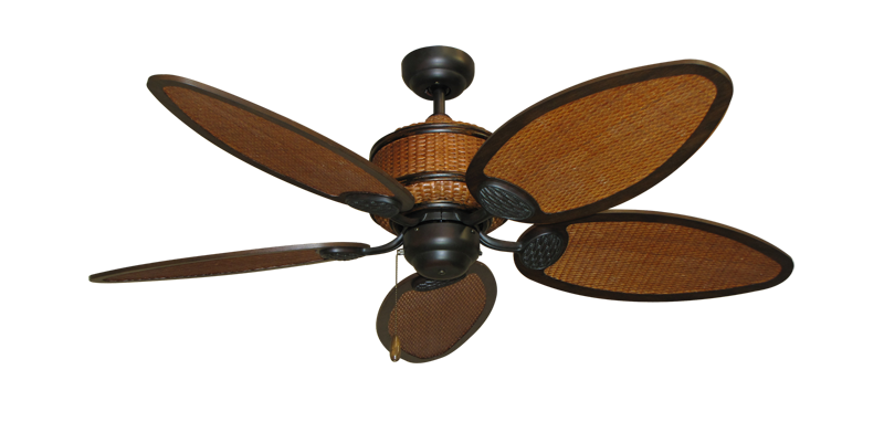 """Picture of 52"""" Cane Isle Ceiling Fan in Oil Rubbed Bronze"""