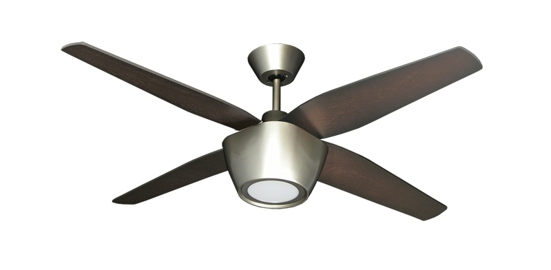 Fresco 52 in brushed nickel ceiling fan with led light dans fan picture of fresco 52 in brushed nickel ceiling fan with led light aloadofball Images
