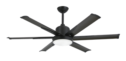 DC-6 52 in. Indoor/Outdoor Oil Rubbed Bronze Ceiling Fan and Light