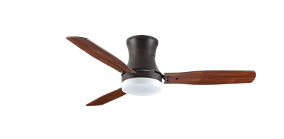 "Modernaire 52"" Oil Rubbed Bronze Ceiling Fan and Light"
