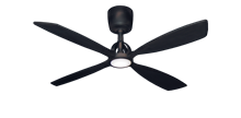 Picture of Ninja 56 in. Oil Rubbed Bronze Ceiling Fan with LED Light