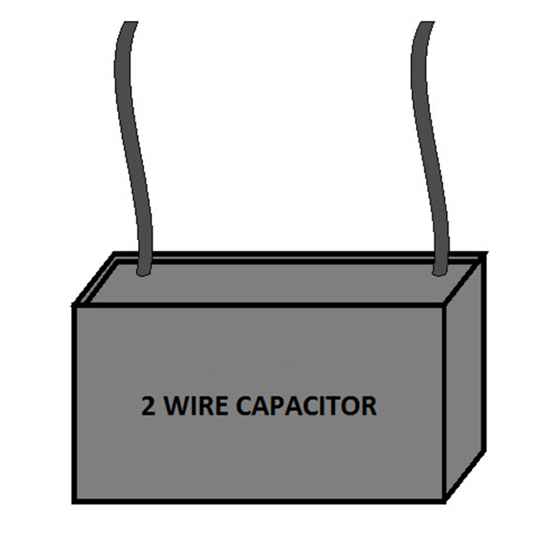 Single Capacitor - Two Wire