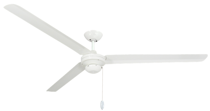 Picture of Tornado 72 in Pure White Industrial Ceiling Fan