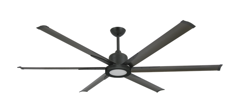 "Picture of Titan II Oil Rubbed Bronze with 72"" Aluminum Oil Rubbed Bronze Blades with 18W LED Array Light and Remote"
