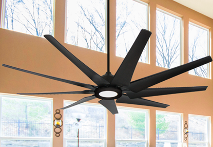 Liberator 72 in. WiFi Enabled Indoor/Outdoor Oil Rubbed Bronze Ceiling Fan With 18W LED Array Light