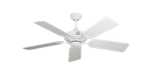 "Coastal Air Pure White with 44"" Pure White Blades"