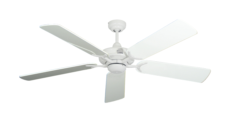 "Picture of Coastal Air Pure White with 52"" Pure White Gloss Blades"
