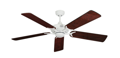 """Picture of Coastal Air Pure White with 52"""" Cherrywood Gloss Blades"""