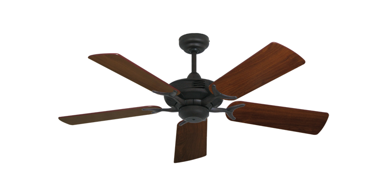 """Picture of Coastal Air Oil Rubbed Bronze with 44"""" Walnut Blades"""