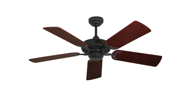 "Picture of Coastal Air Oil Rubbed Bronze with 44"" Cherrywood Blades"
