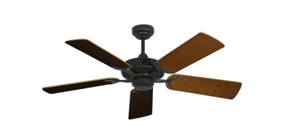 "Picture of Coastal Air Oil Rubbed Bronze with 44"" Natural Cherry Blades"