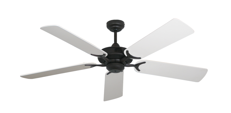 """Picture of Coastal Air Oil Rubbed Bronze with 52"""" Pure White Blades"""