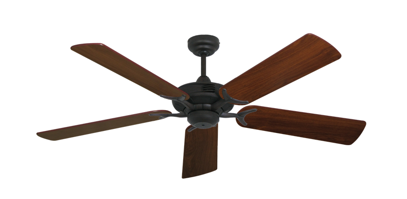"Picture of Coastal Air Oil Rubbed Bronze with 52"" Walnut Blades"