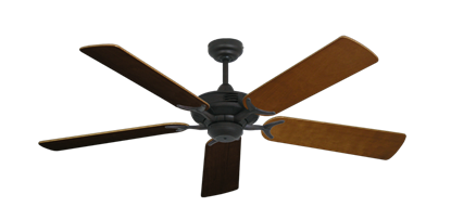 """Picture of Coastal Air Oil Rubbed Bronze with 52"""" Natural Cherry Blades"""