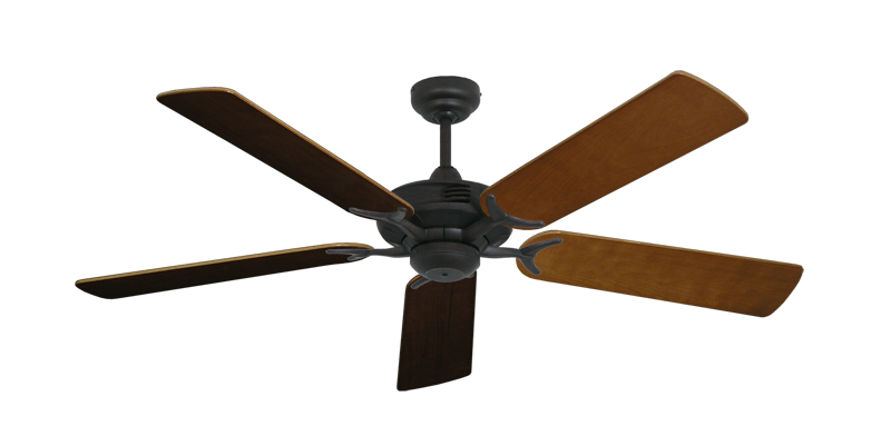 "Picture of Coastal Air Oil Rubbed Bronze with 52"" Natural Cherry Blades"