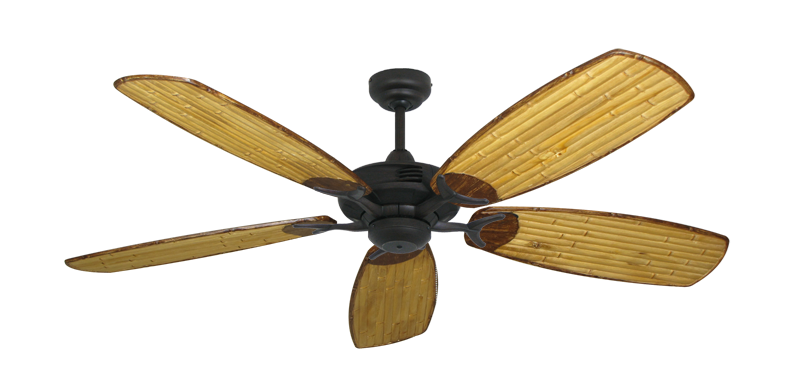 "Picture of Coastal Air Oil Rubbed Bronze with 52"" Series 275 Arbor Bamboo Blades"