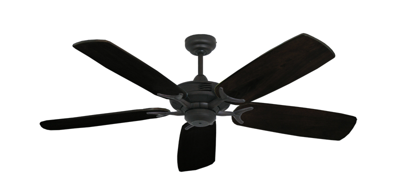 "Picture of Coastal Air Oil Rubbed Bronze with 52"" Series 425 Arbor Dark Walnut Blades"