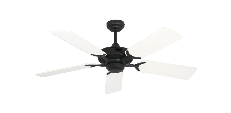 "Picture of Coastal Air Oil Rubbed Bronze with 44"" Outdoor Pure White Blades"