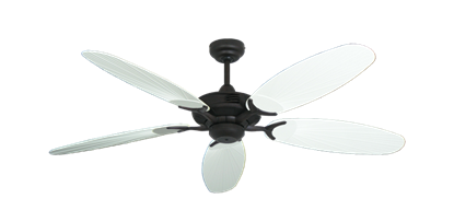 "Picture of Coastal Air Oil Rubbed Bronze with 52"" Outdoor Leaf Pure White Blades"