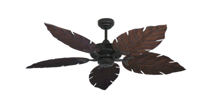 "Picture of Coastal Air Oil Rubbed Bronze with 52"" Venetian Oil Rubbed Bronze Blades"