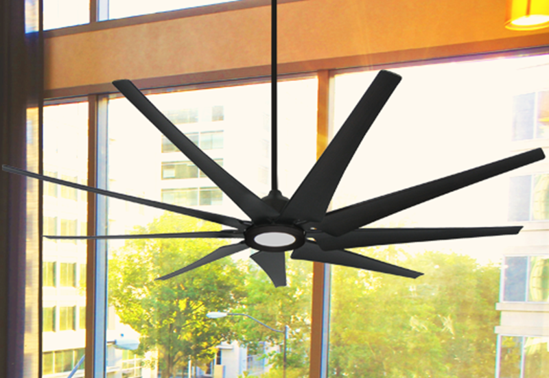 Picture of Liberator 82 in. WiFi enabled Indoor/Outdoor Oil Rubbed Bronze Ceiling Fan With 18W LED Array Light