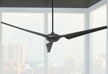 Ion 76 in. WiFi Enabled Indoor/Outdoor Oil Rubbed Bronze Ceiling Fan with Remote Control