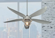 St. Augustine 59 in. Indoor/Outdoor Galvanized Look Ceiling Fan with Light
